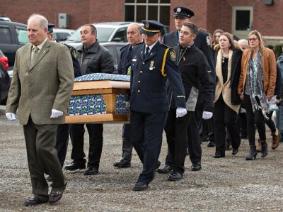 Hundreds Attend Funeral for Evan