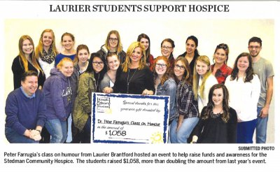 Laurier Students Support Hospice